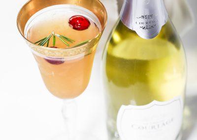 Le Grand Courtâge Persimmon Blanc Cocktail